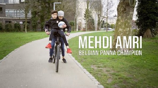 The story of Mehdi Amri | 13 year old Belgian Panna Champion