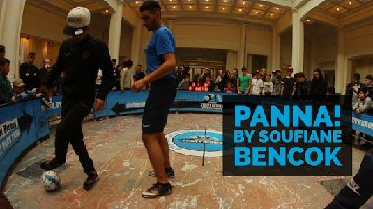 Panna by the master | Soufiane Bencok first round match at Engie Street Heroes Final 2016